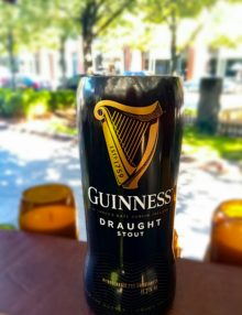 Guinness Genuine Draft Beer Bottle Soy Candle